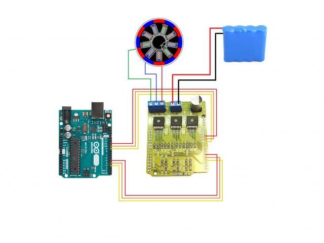 Arduino compatible bldc shield